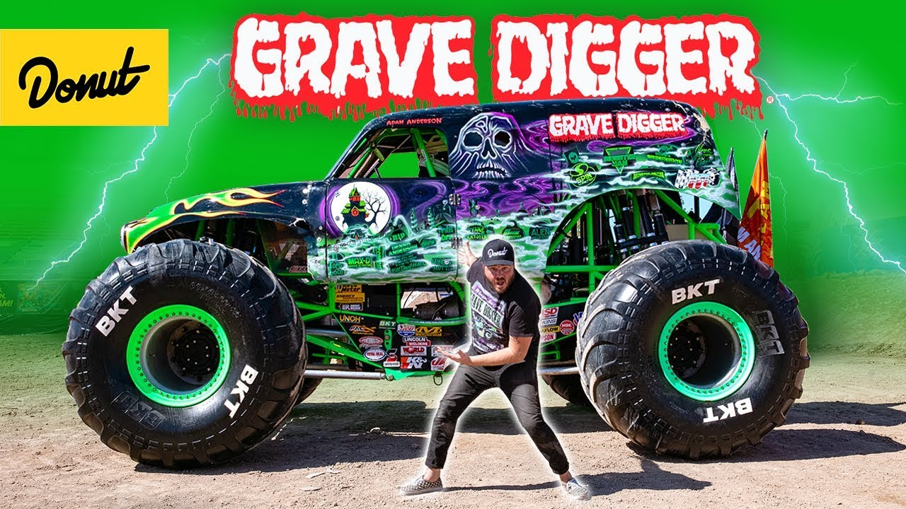 Grave Digger Inside The Legendary Monster Truck Youtube
