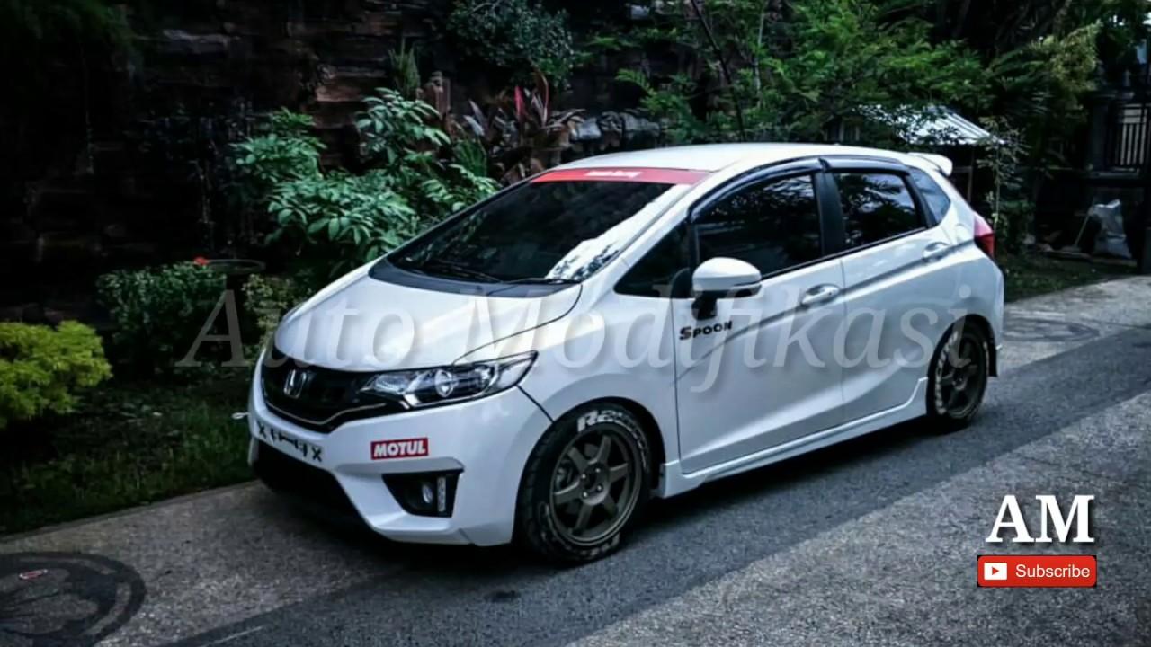Modifikasi All New Honda Jazz Rs Spoon Racing Automodifikasi Youtube