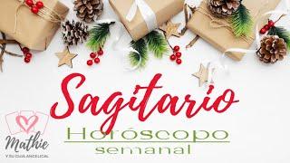 SAGITARIO  del 30 de noviembre al 6 de diciembre HOROSCOPO SEMANAL Tarot Guia Angelical