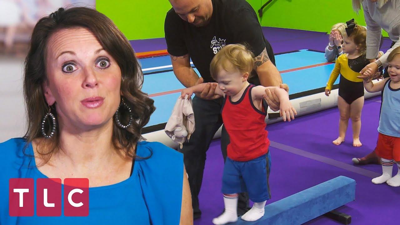 Download The Babies' First Gymnastics Class! | Sweet Home Sextuplets
