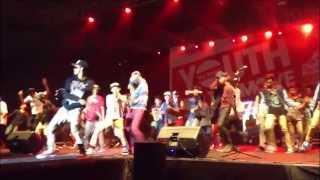 YOUNG LEX -SINGLE WOLES-  live senayan hai sobat
