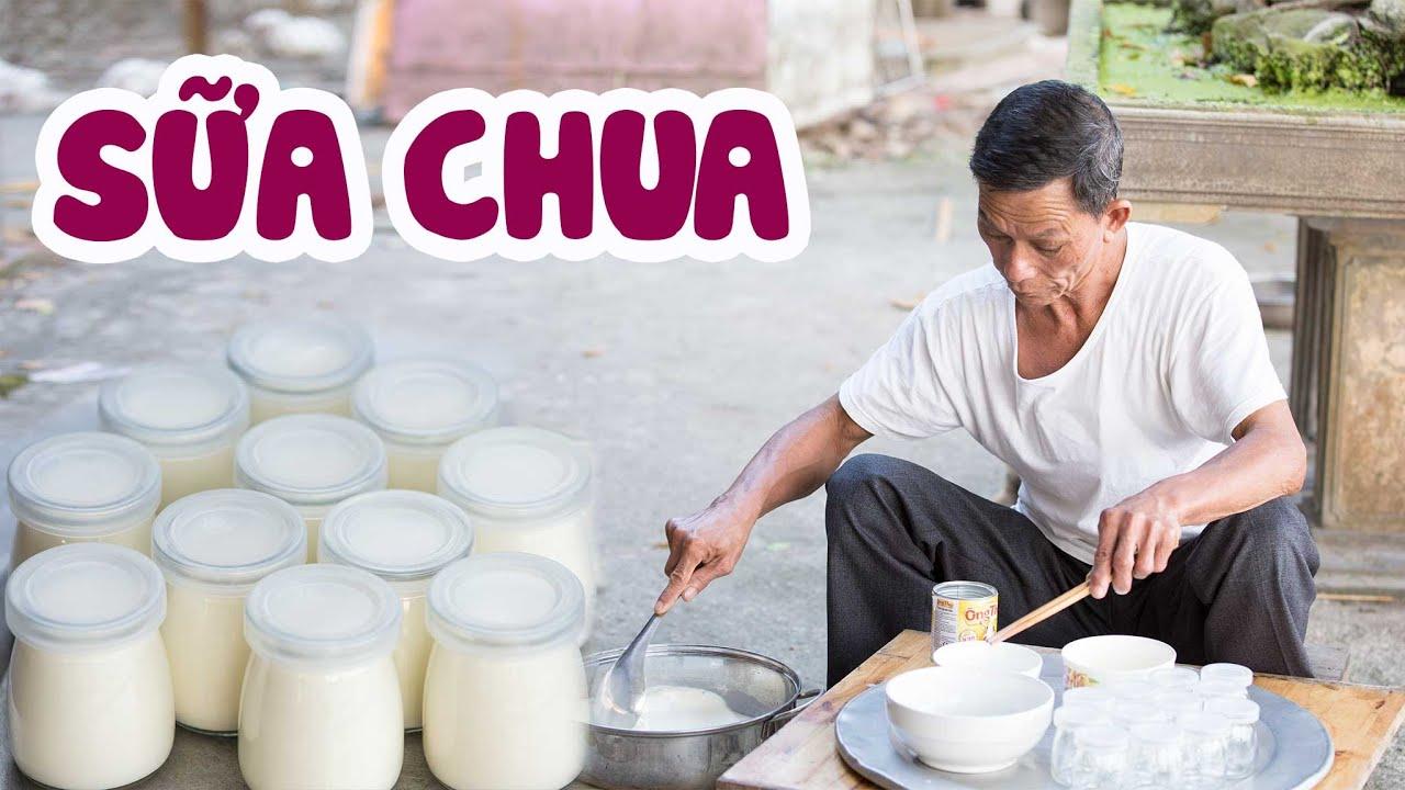 Ông Thọ Làm Sữa Chua Sánh Mịn, Ăn Hoài Không Chán | Handmade Yogurt