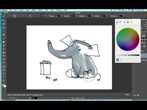 Mac Photo Editor Pixelstyle - Paint Tool for Mac ( Features #1)
