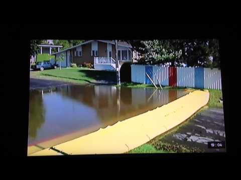 Flood Protection Solutions with a Water-Gate barrier on bbcemt