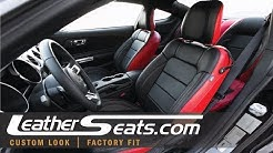 2015 - 2019 Ford Mustang GT - Custom Replacement Leather Upholstery Kit - LeatherSeats.com