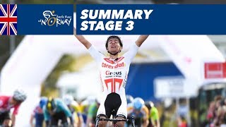 Summary - Stage 3 - Arctic Race of Norway 2018