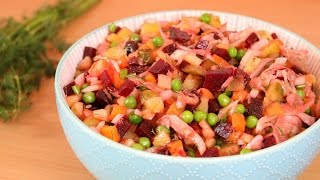 RUSSISCH KOCHEN | Vinaigrette Salat | SooO LECKER! | Kartoffelsalat | SweetLifeSunShine