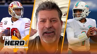 49ers should trade Jimmy Garoppolo; Dolphins must keep Tua - Mark Schlereth | NFL | THE HERD
