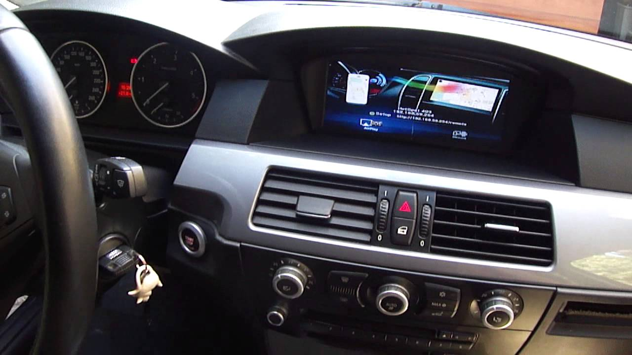 8 8 inch android BMW GPS for E60 90 CIC - YouTube