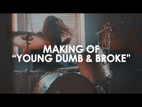 Making of a cover: Young Dumb & Broke