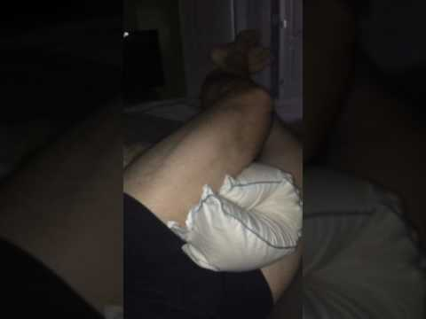 Scissor squeezing pillow between legs from YouTube · Duration:  14 seconds