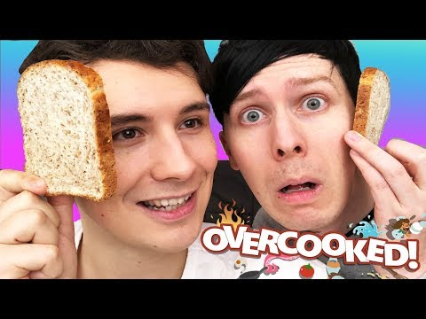 Download Youtube: MAKING A PHANDWICH - Dan and Phil play: Overcooked #2!