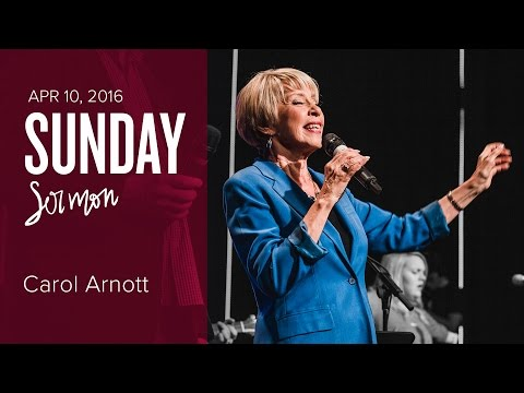 The Heart of Revival Leaders - Carol Arnott with Laura Woodley Osman (Sunday, 10 Apr 2016)