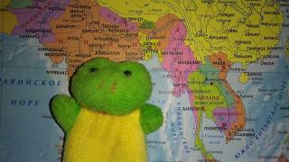 видео Андаманское море на карте мира -