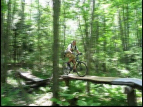 Mountain biking Maine 2008