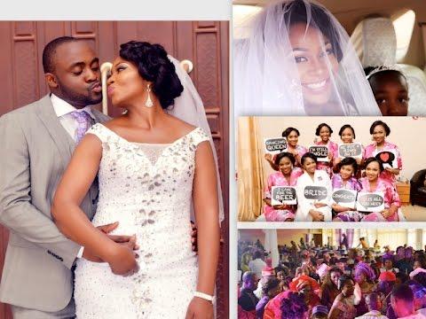 LIFE IN NIGERIA : WHITE WEDDING PROPER  : PART 1