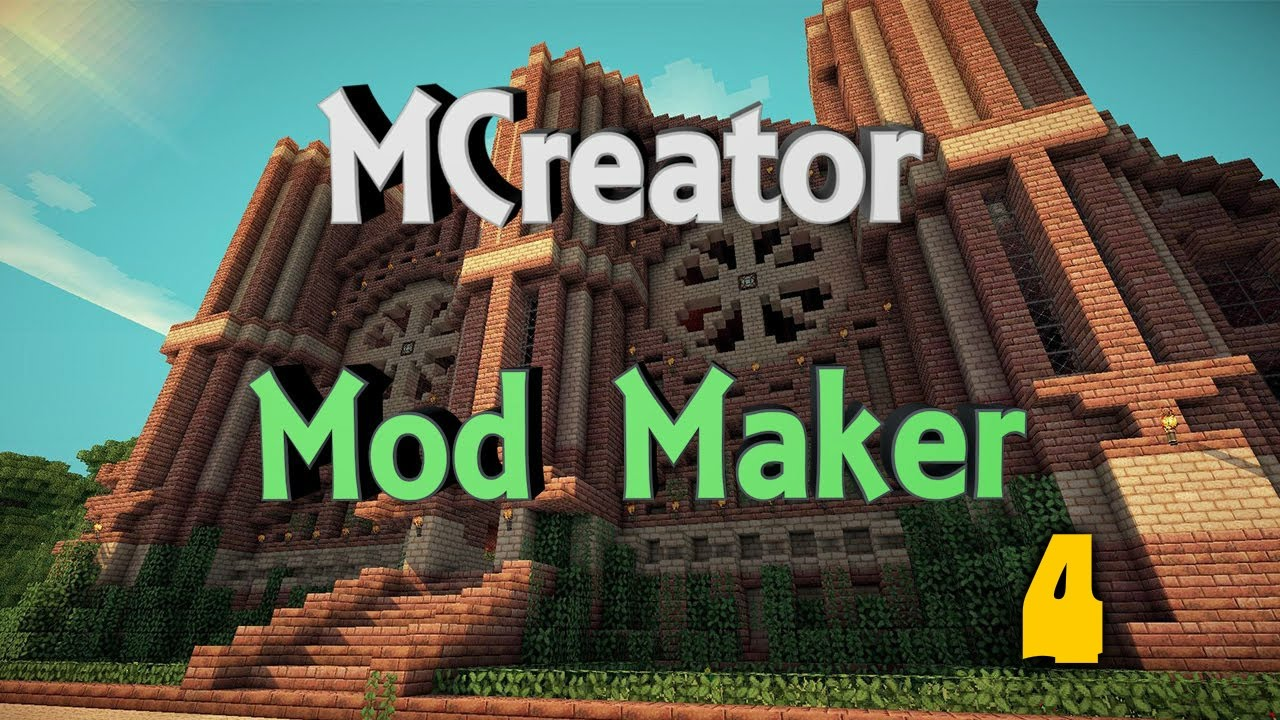 Создание модов через mcreator для minecraft 1. 7. 10 #2 youtube.