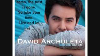 David archuleta - something 'bout love official [with lyrics]