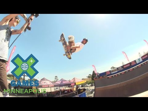 Bucky Lasek places first at X Games Vert Qualifier