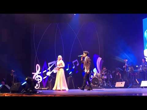 Haqiem Rusli ft Siti Nordiana - Memori Berkasih #KonsertKita18 @ RTM Pahang
