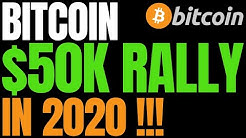 BITCOIN WILL HIT $50,000 IN 2020: Industry Executive Doubles Down | BTC $1,000,000 Upside