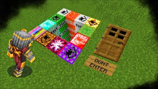 Minecraft DON'T GO INSIDE THIS SECRET TNT HOLE MOD / STAY AWAY FROM THE EXPLOSIVES !! Minecraft Mods