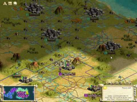 Let's Play Civilization III: Play the World -- Episode LXV