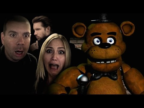 Troy Baker Plays Five Night's at Freddy's, Screams like a Girl  IGN Plays