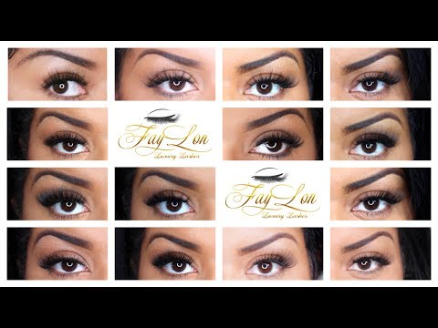 LOOKBOOK 14 3D Mink Lashes - The Lucy Collection by FayLon Luxury Lashes