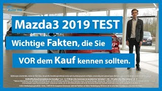 Mazda 3 2019 deutsch TEST & Fahrzeugvorstellung | Fakten, die Sie vor dem Kauf kennen sollten