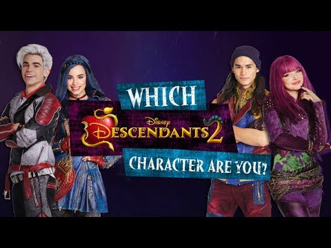 Which DESCENDANTS 2 Character Are You?