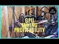 $800 Electric Bill + GPU Mining Profitability [ZenCash] + [Zcash]