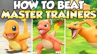 How To Beat Charmander, Charmeleon, Charizard Master Trainers Guide!