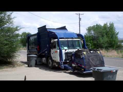 WCA Waste Corporation  Autocar Xpeditor Heil Half Pack