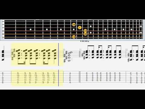 Nickelback Photograph Note Tabs Acustic Guitar Youtube
