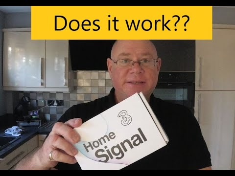 Mobile Phone Signal Booster For THREE Network In UK