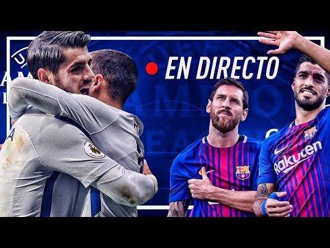 CHELSEA vs BARCELONA en DIRECTO | UEFA Champions League | 20 Febrero 2018