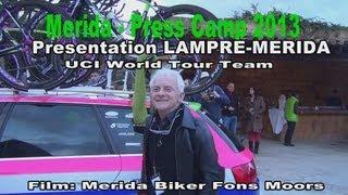 2013 Lampre Merida Press Camp Mallorca - Part 1 - Film: Merida Biker Fons Moors