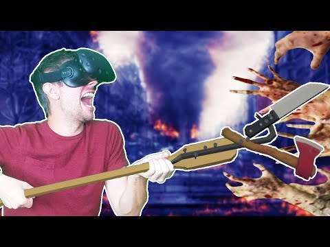 CRAFTING THE CRAZIEST APOCALYPSE WEAPONS IN VR! - Undead Development HTC VIVE Gameplay