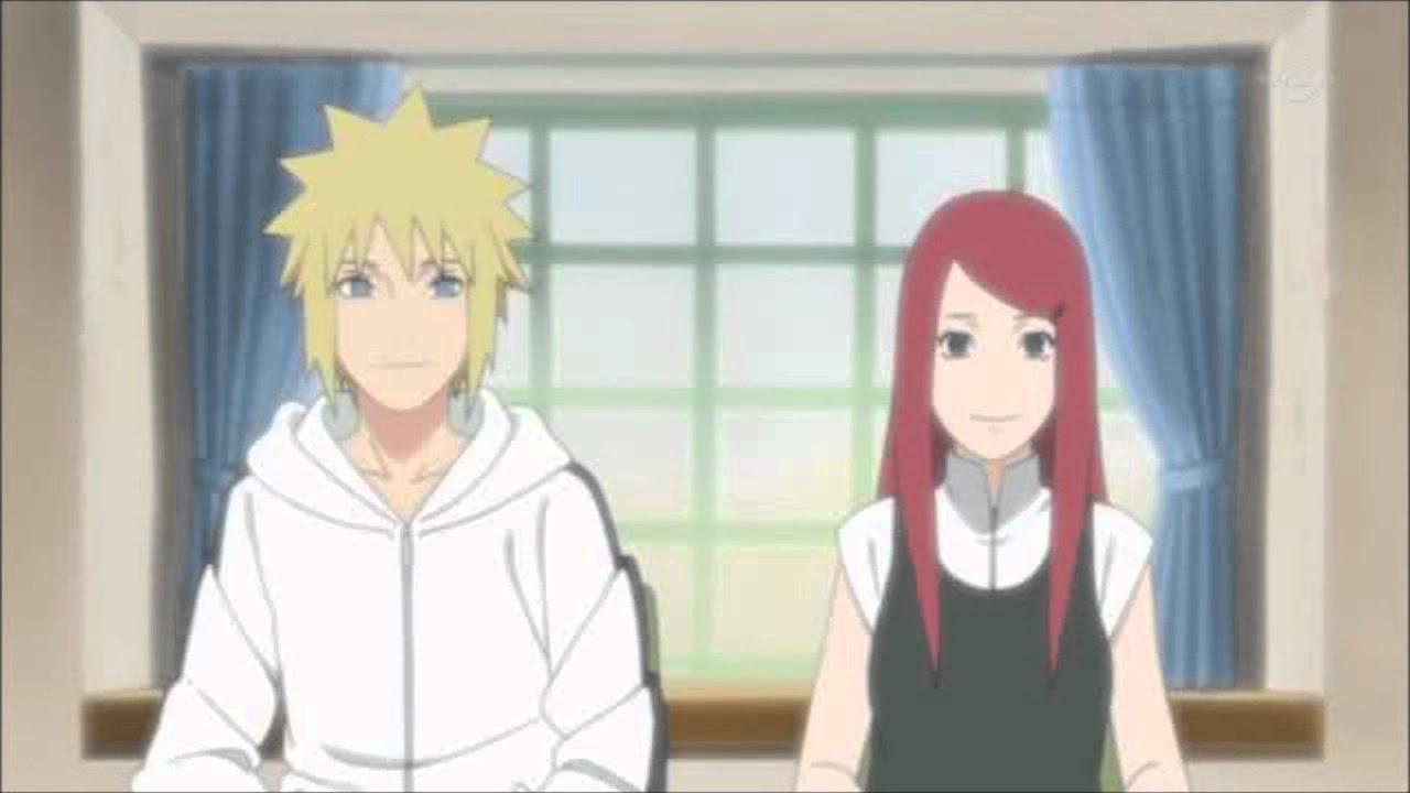 minato and kushina meet future naruto