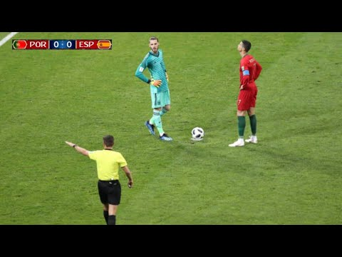 Cristiano Ronaldo Dealing With Cheaters!