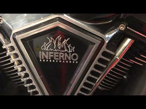 Harley FXDR 'Inferno Supercharged' Walk Around. 200 Hp 200 Ft.lb Of Torque
