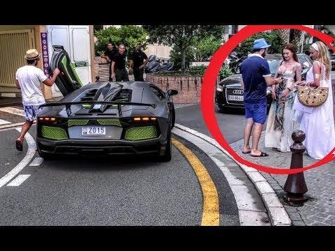 SUPERCAR OWNER TRYING TO PICK UP GIRLS IN MONACO!