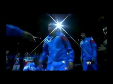 Oklahoma City Thunder Introduction NBA Finals 2012
