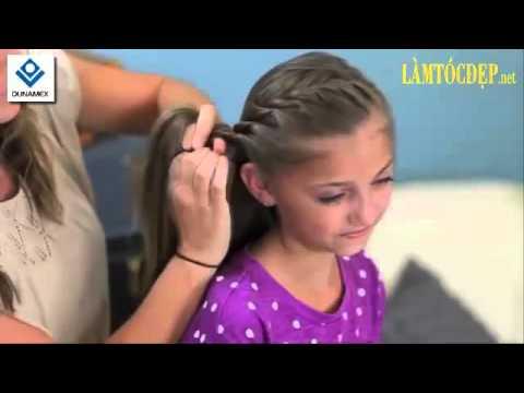 DUNAMEX – Cách tết tóc vương miện cho bé