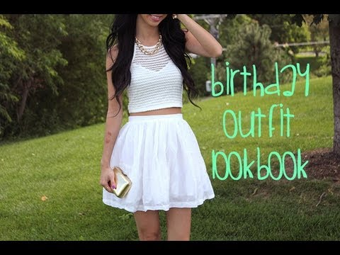 Birthday Outfit Lookbook