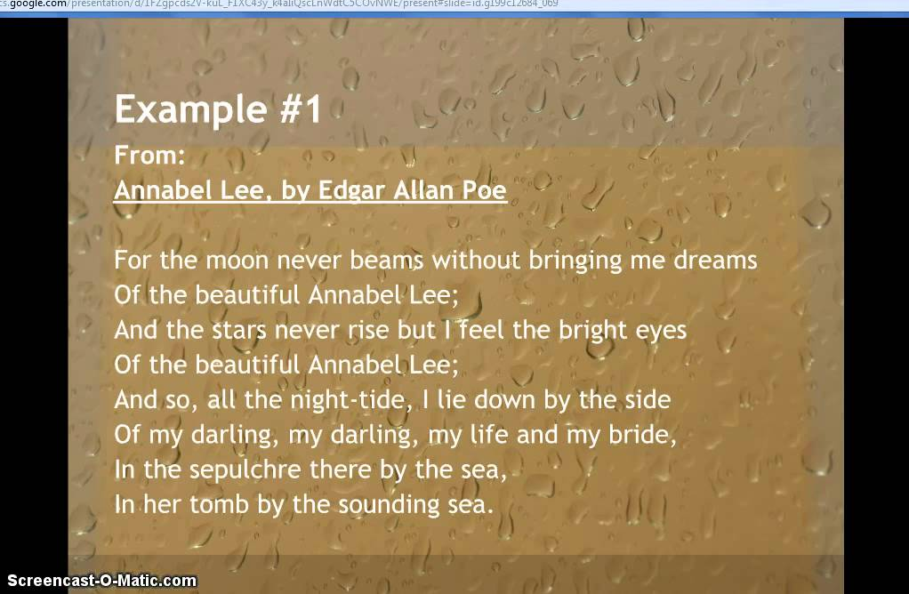 Examples of Mood in Poetry - YouTube - examples of
