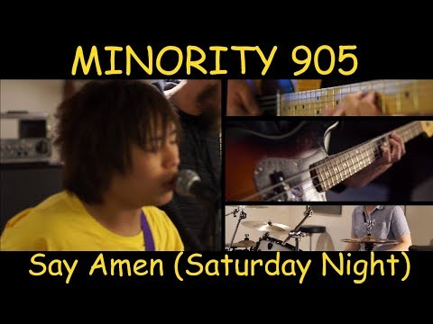 Panic! At The Disco - Say Amen (Saturday Night) | Full Band Cover by Minority 905