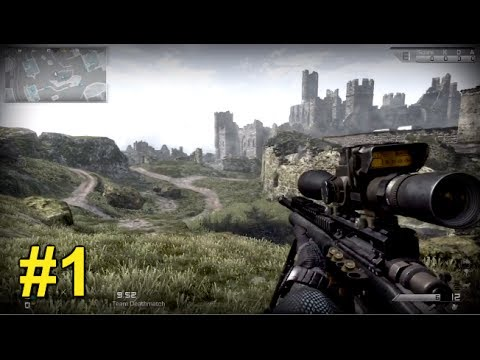 SNIPING LIKE A PRO! - Call of Duty:Ghosts Live Commentary #1