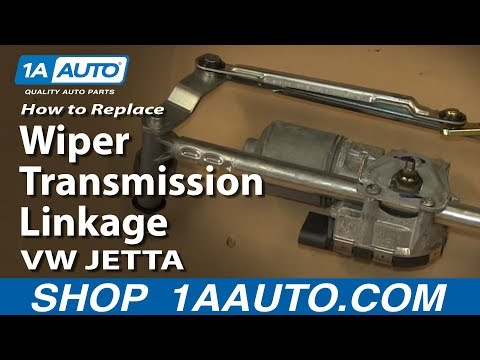 How to Replace Windshield Wiper Transmission Linkage 05-13 Volkswagen Jetta